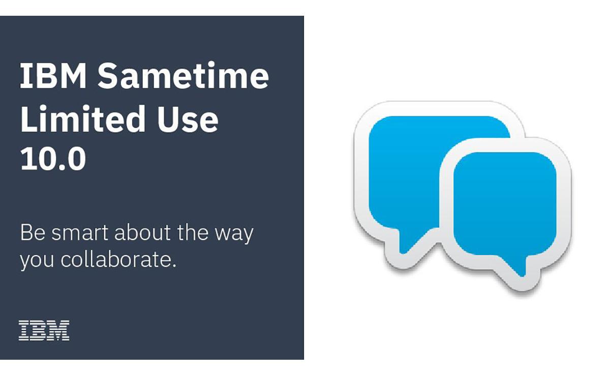 ibm Sametime Limited Use 10