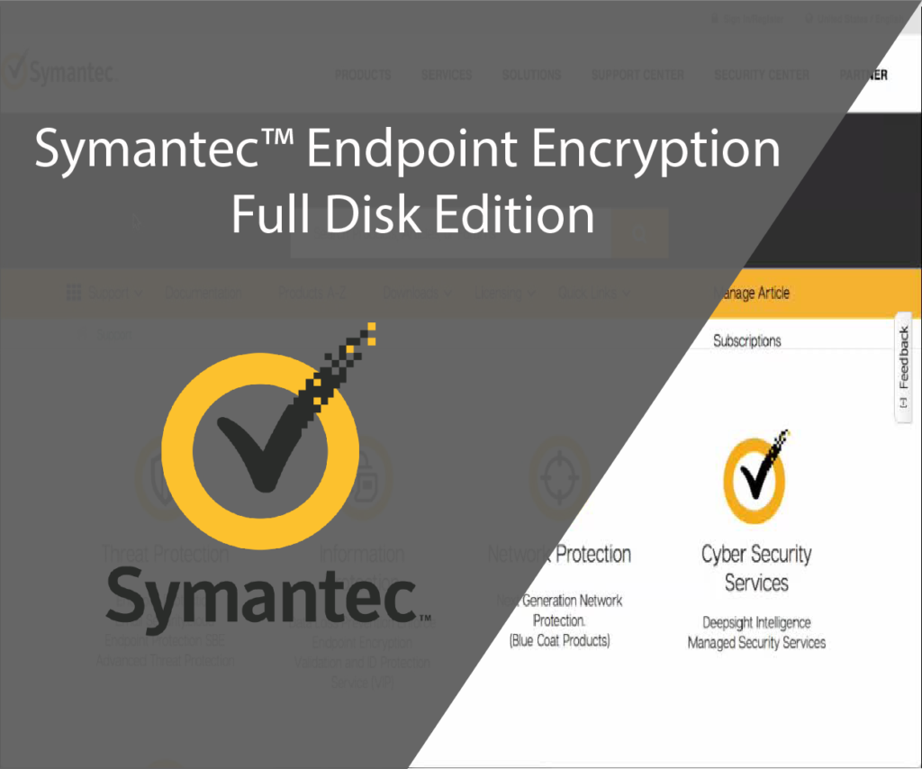 Symantec Endpoint Encryption Full Disk Edition