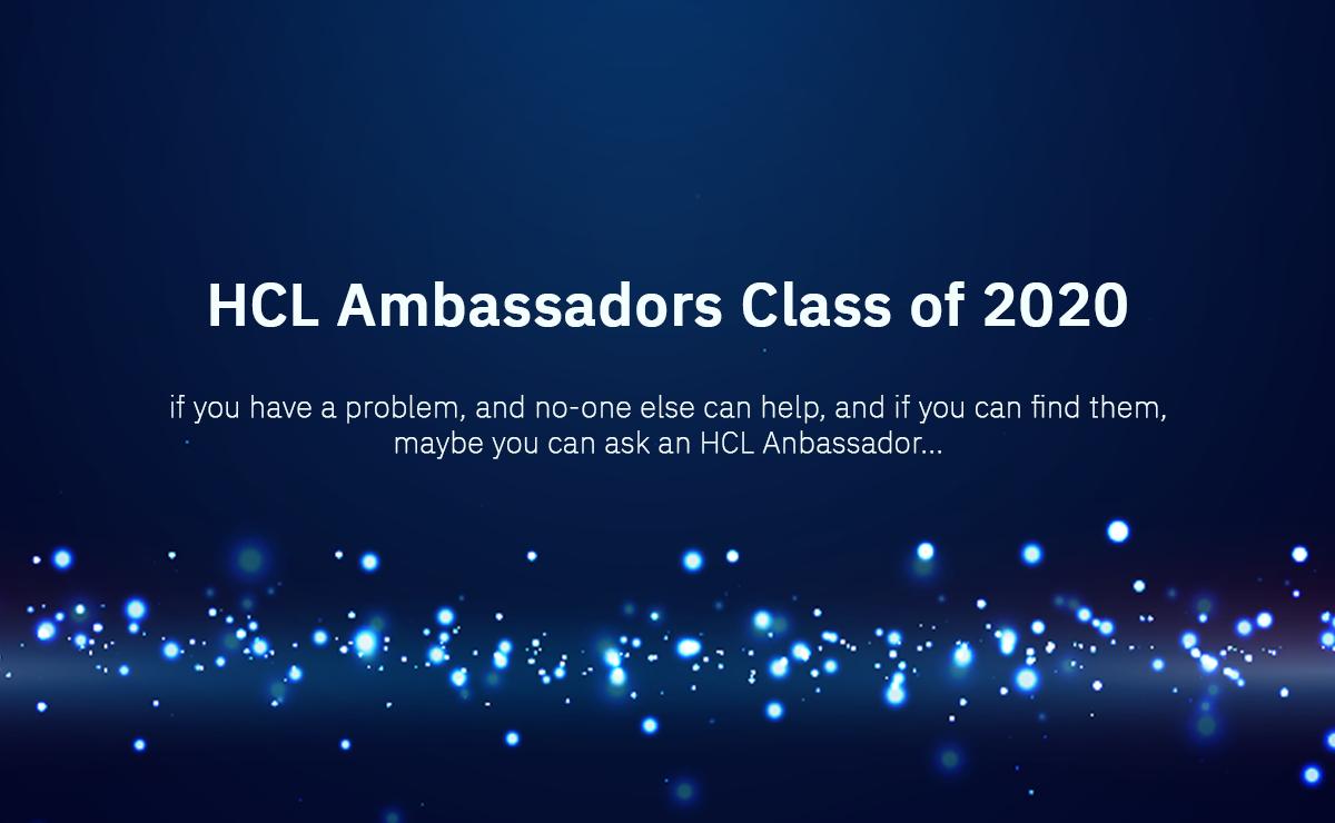 HCL Ambassadors Class