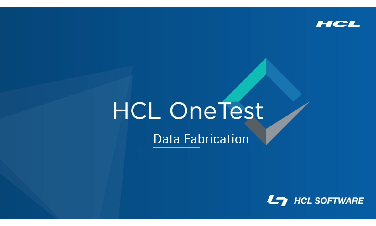Data Fabrication