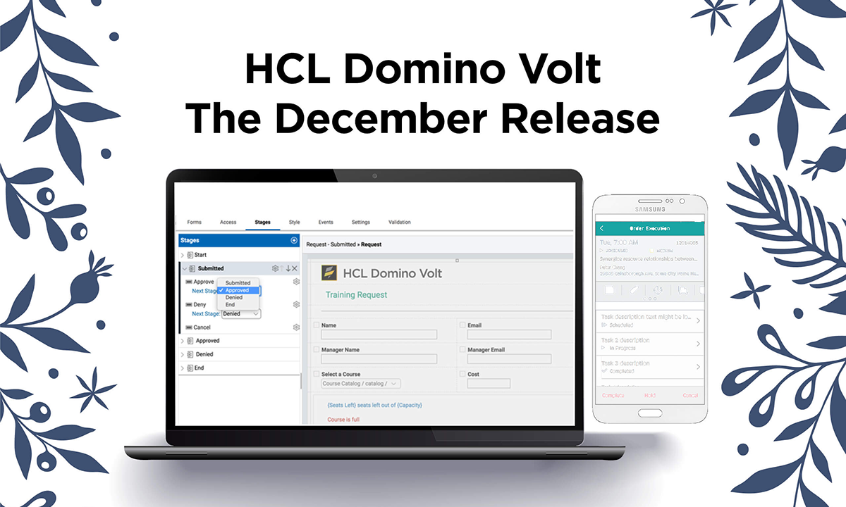 HCL Domino Volt Release