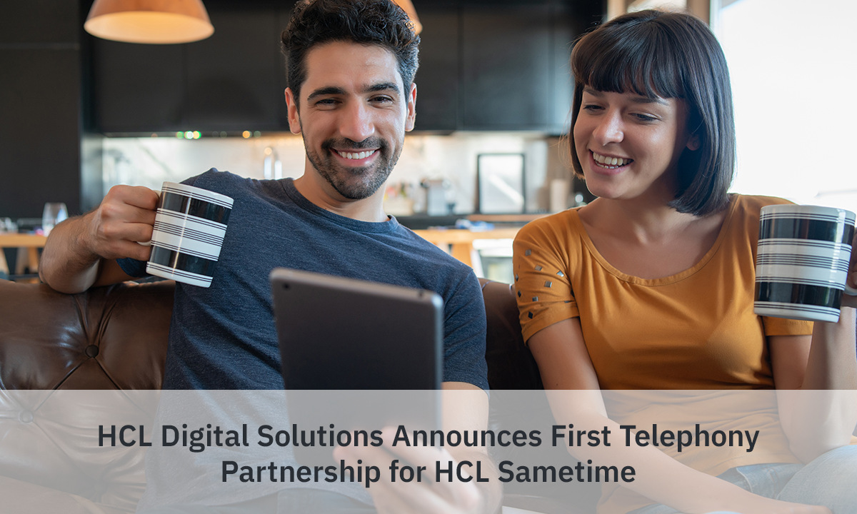 First Telephony Partnership for HCL Sametime